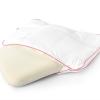 Vinci Down Deluxe Shoulder White Pillow